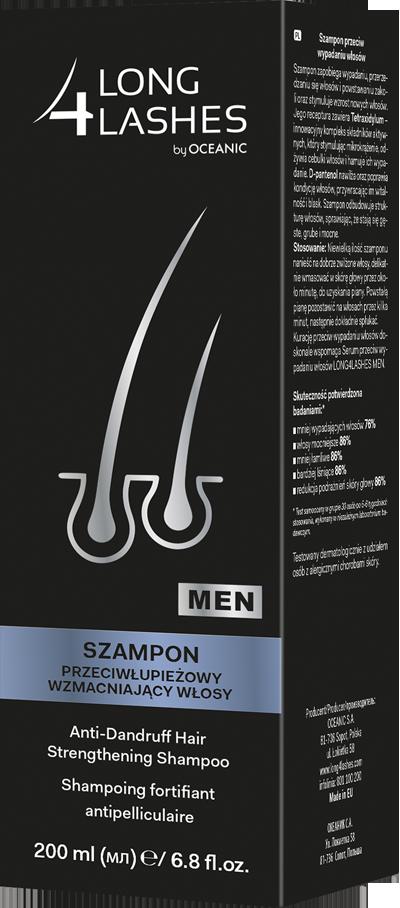 Szampon przeciwłupieżowy wzmacniający włosy