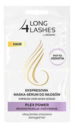 Ekspresowa maska-serum do włosów Plex Power