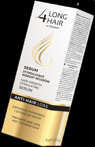 Hair growth stimulating serum