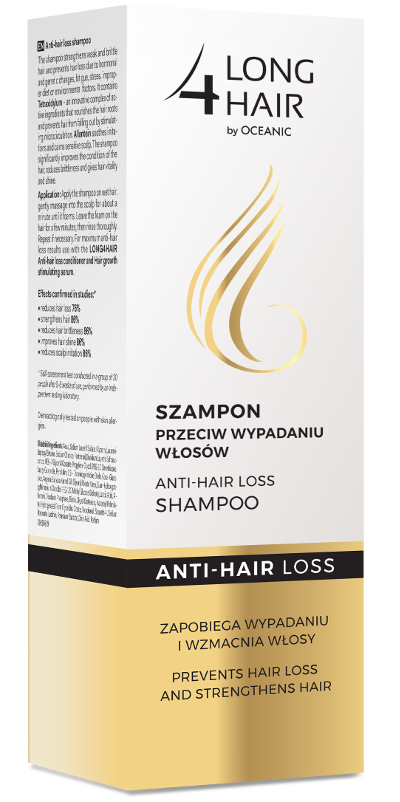 Anti-hair loss strengthening shampoo