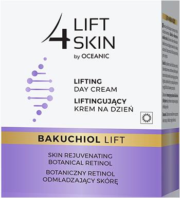 Liftingujący krem nadzień Zbotanicznym retinolem odmładzającym skórę