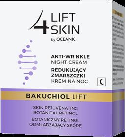 Redukujący zmarszczki krem nanoc Zbotanicznym retinolem odmładzającym skórę